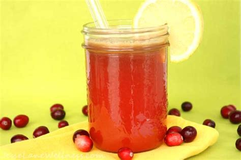 How Much Cranberry Juice To Detox by Cranberry Apple Detox Juice By Wellness