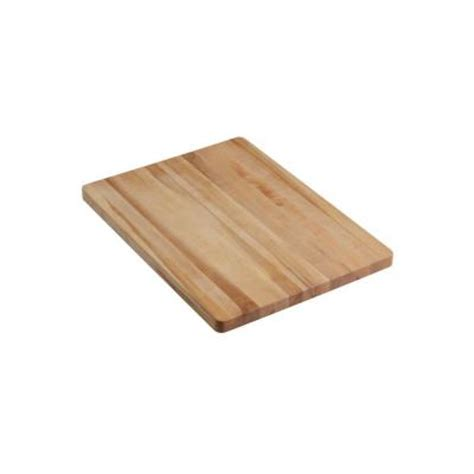 kohler vault strive wood cutting board k 6667 na the