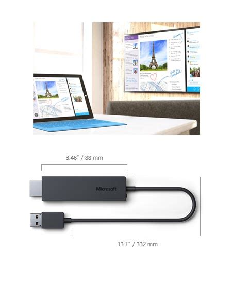 Microsoft Wireless Display Adapter microsoft presenta il display adapter wireless adattatore miracast windowsteca