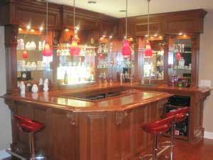 shaped bar woodworking blog  plans