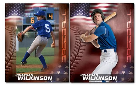 Patriotic Baseball Photoshop Templates Arc4studio Baseball Photo Templates Photoshop