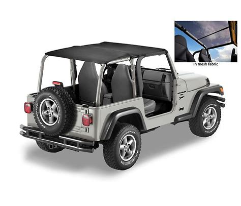 Jeep Mesh Top Bestop 174 52532 11 Header Safari Top In Mesh Material
