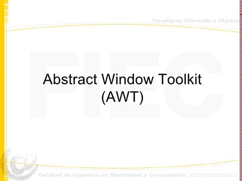 layout manager in java awt ppt awt java