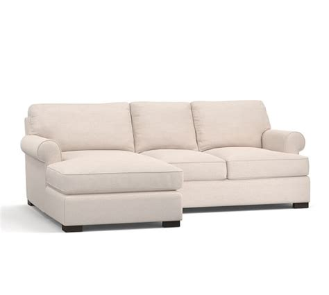 Townsend Sofa townsend upholstered sofa with chaise sectional pottery barn