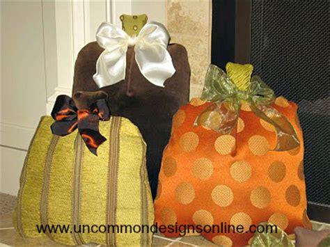 pumpkin pillows uncommon designs