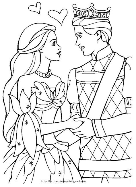Barbie Coloring Pages Ken And Barbie Black And White Black And White Color Pages
