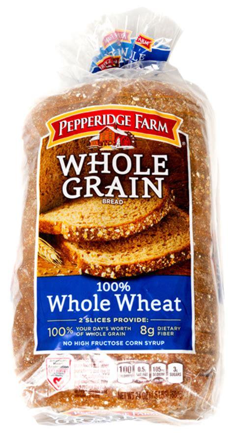 whole grain bread 100 pepperidge farm bread whole grain 100 whole wheat