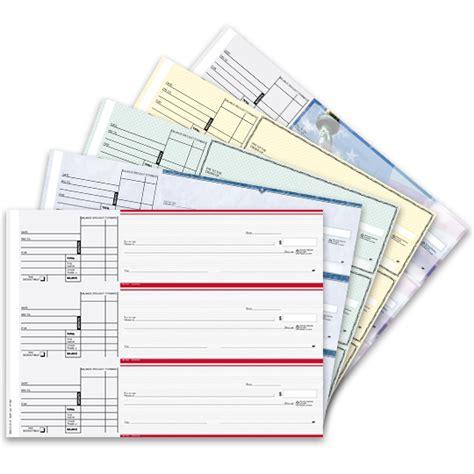 Desk Checks 3 Per Page by Checks