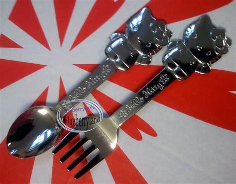 Dress Hk Sanrio Quality Import sanrio hello spoon fork set kitchen cutlery home