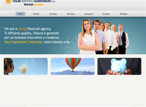 semplice corporate come realizzare un sito in stile corporate business