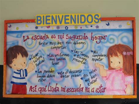 imagenes educativas de bienvenida cartelera de bienvenida al nuevo a 241 o escolar imagui