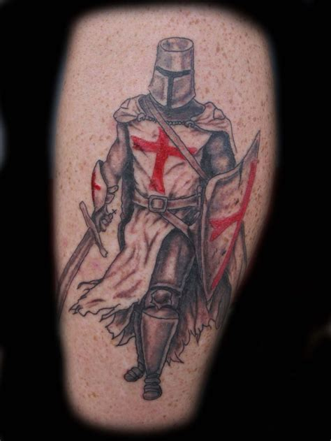 knight tattoo templar warrior