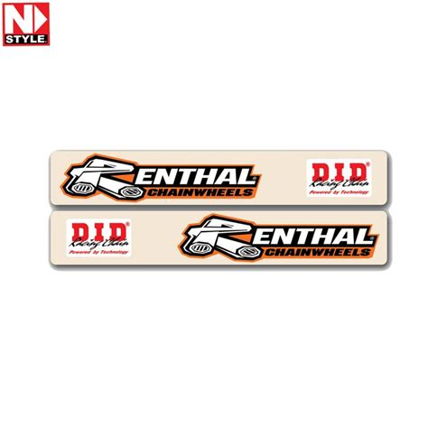 swing arm stickers n style swingarm decals renthal d i d