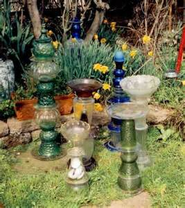 glaskunst garten garden garden whimsical garden decor backyard