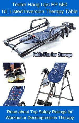Teeter Hang Ups Ep 560 Inversion Table by 17 Best Images About Inversion Table On