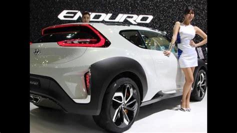 Future Hyundai Cars by 2018 Hyundai Enduro Concept Luxury Future New Car