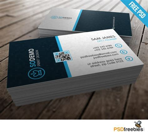 Psd Code Lookup By Address Modern Corporate Business Card Template Free Psd Psd