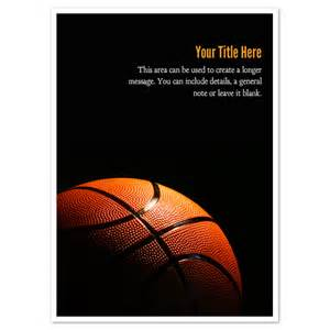 basketball in shadow invitations amp cards on pingg com