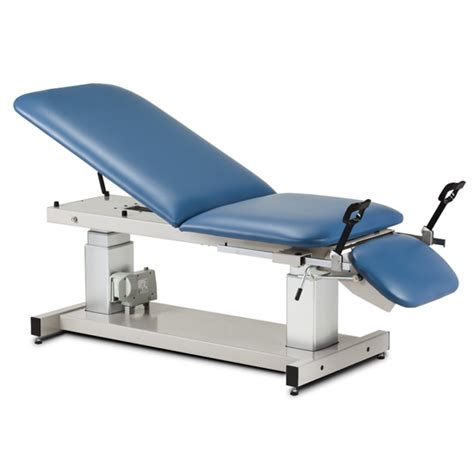 table with stirrups multi use ultrasound table with stirrups power