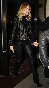 rosie huntington whiteley leather pants rosie huntington whiteley in leather pants 06 gotceleb