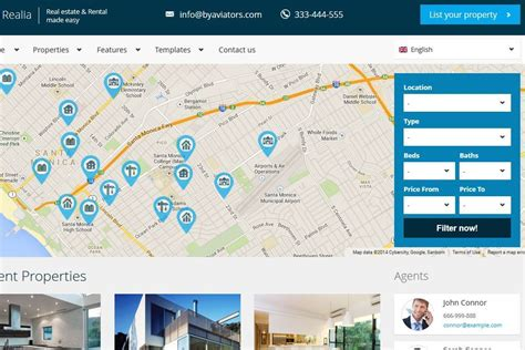 bootstrap themes free map how to start a business directory using wordpress 13