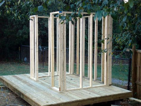Building A Storage Shed Look How To Build A Storage Shed Wall Haddi
