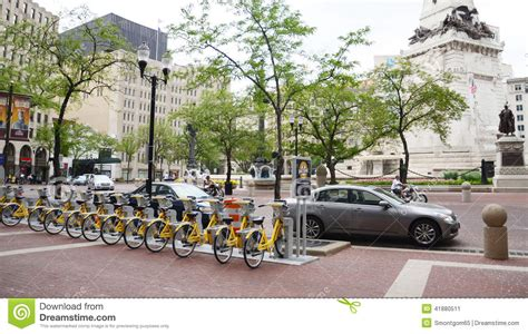 Forum Credit Union Monument Circle bicycle bicycle indiana