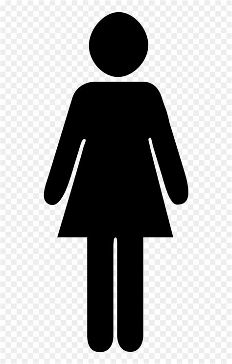 Download Woman Icon Characters Toilet Png Image - Female