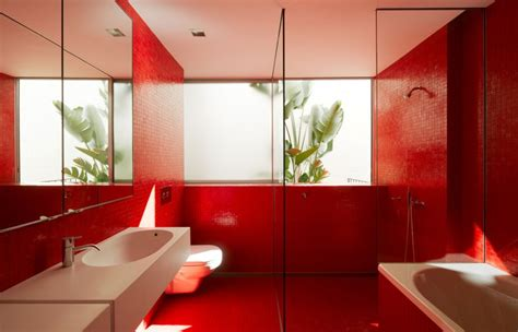 red bathroom design ideas tiny red tiles wall bathroom design ideas warmojo com