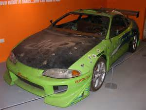 Mitsubishi Eclipse Fast Furious Mitsubishi Eclipse From The The Fast And The Furious