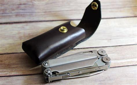multitool sheath leather multi tool sheath by american bench craft