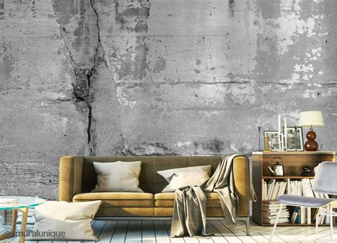 painting on concrete wall concrete wall art buy prepasted wallpaper murals online