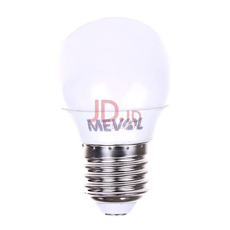 Light Led 3 Mata Garansi Pengiriman Bergaransi jual meval lu led mini bulb 3w cool day light putih jd id