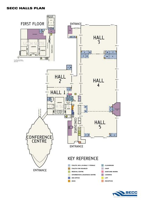 Secc Floor Plan | euromat 2009 european congress and exhibition on