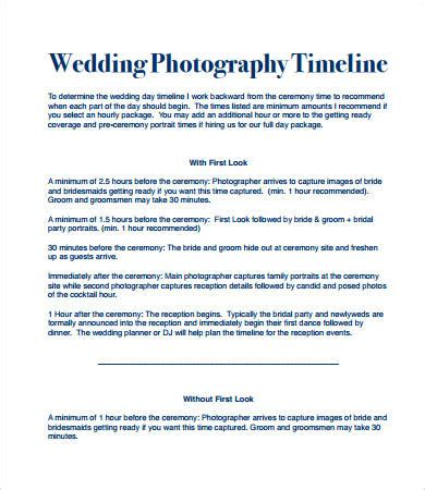 Wedding Day Timeline 7 Free Pdf Documents Download Free Premium Templates Wedding Day Timeline Template