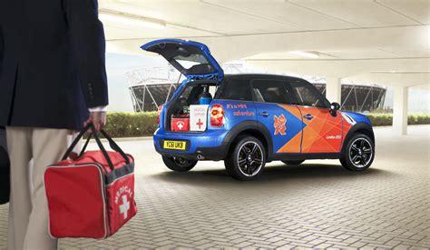 bmw unveils armada  vehicles  london olympics autoblog