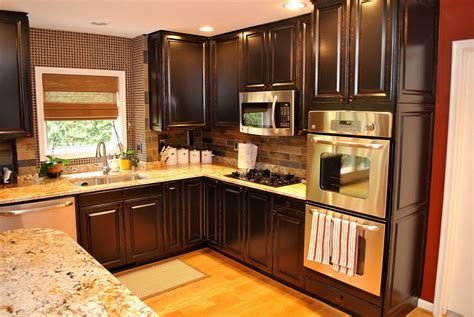 Cool Kitchen Cabinet Ideas by Kitchen Cabinets Ideas Pictures Two Tone Kitchen Cabinet