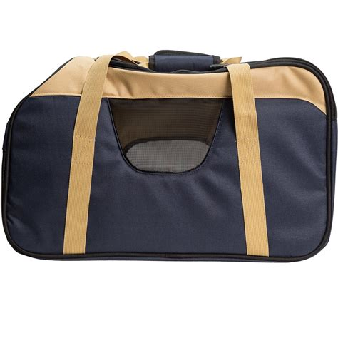 bergan comfort carrier large bergan pet top opening comfort carrier large navy 19 quot x