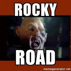 Goonies Meme - rocky road quotes like success