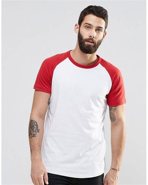 Pull N Shirt Brown pull t shirt with raglan sleeve in in for