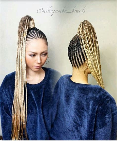 nicki minaj inspired feedin cornrows done by london s braids twists boxbraidscolors cornrows on instagram