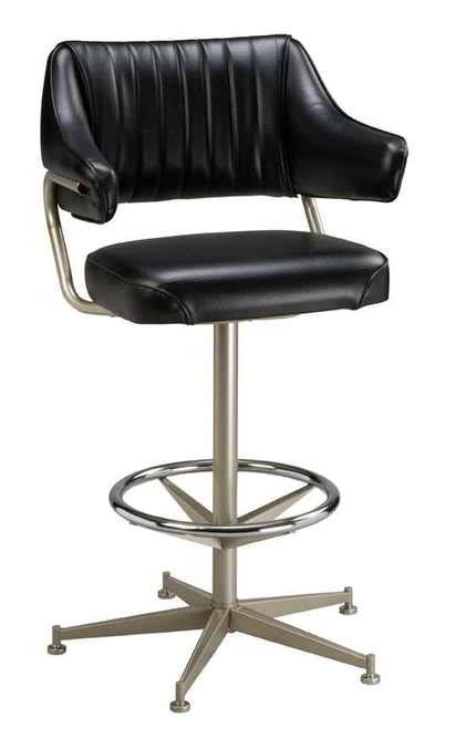 Padded Swivel Bar Stools With Arms by Padded Bar Stool With Arms Seat Stool