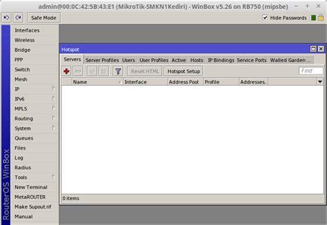membuat user profile hotspot mikrotik membuat hotspot pada mikrotik master jaringan