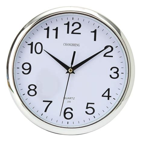 wall clock for bedroom buy six colors vintage round modern home bedroom time