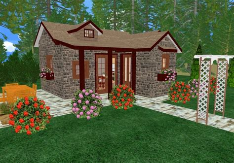 tiny cottage house plan cozy cottage house