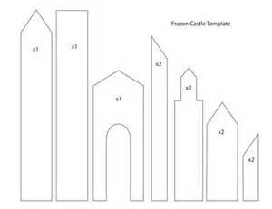 castle template 1000 ideas about frozen castle on