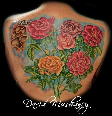 rebel rose tattoos david mushaney tattoos tattoos realistic roses