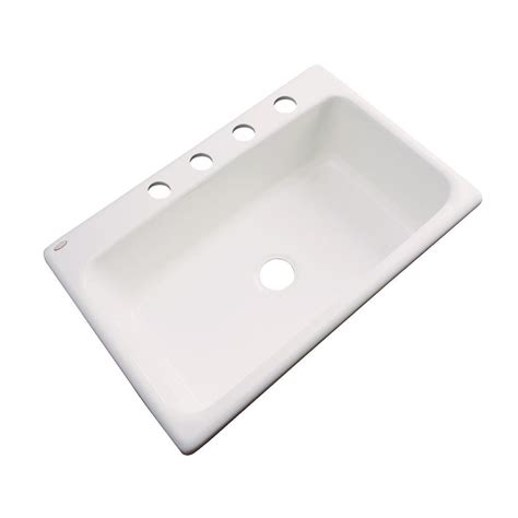 Kitchen Sink 33x19 Thermocast Newport Undermount Acrylic