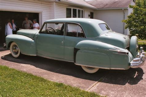 1948 lincoln continental coupe we lincoln s past present and future 1948