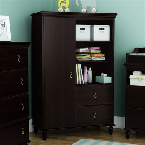 armoire with shelves kids armoire wardrobe bedroom storage cabinets wood